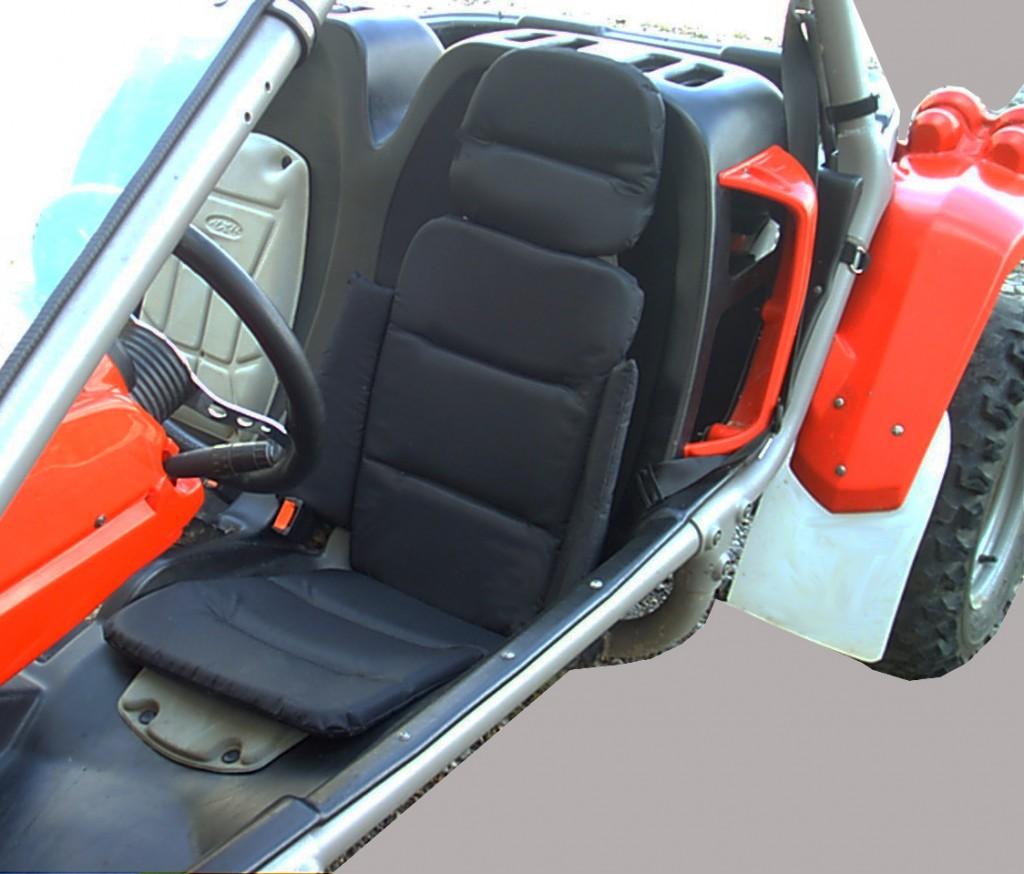 Housse Baquet Kapa Z Fabricant Accessoires Quad Moto Ssv