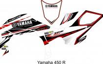 SM YAMAHA YFZR 450 branco-verm